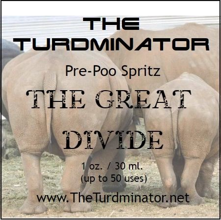 The Great Divide - The Turdminator pre-poo spritz