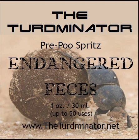 Endangered Feces - The Turdminator pre-poo spritz
