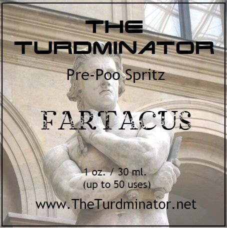 Fartacus - The Turdminator pre-poo spritz