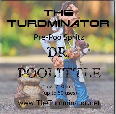 Dr. Poolittle - The Turdminator pre-poo spritz