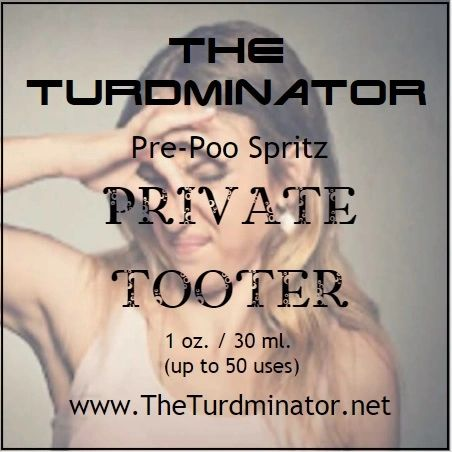 Private Tooter - The Turdminator pre-poo spritz