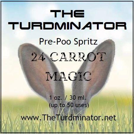 24 Carrot Magic - The Turdminator pre-poo spritz