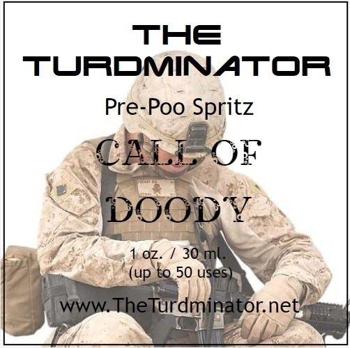 Call of Doody - The Turdminator pre-poo spritz