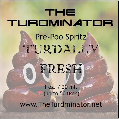 Turdally Fresh - The Turdminator pre-poo spritz