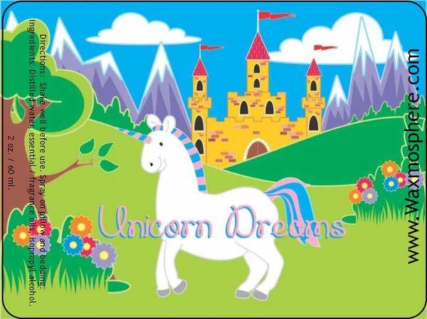 Unicorn Dreams - children's sleepy time spray for pillow & linens