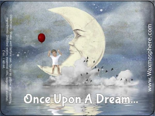 Once Upon A Dream - children's sleepy time spray for pillow & linens