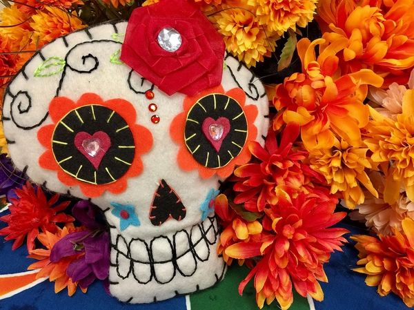 Day of the Dead (LUSH Calacas type)