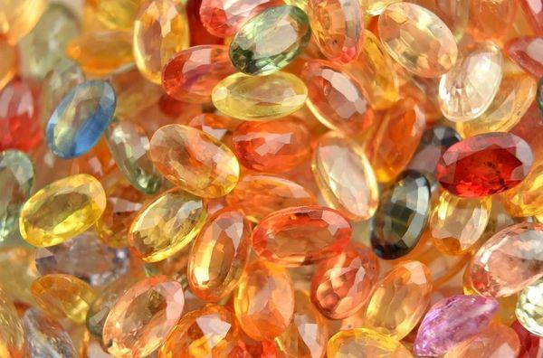 Orange Colored Sapphires (compare to BBW Orange Sapphire)