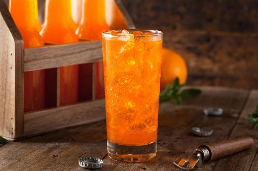 Orange Soda Pop