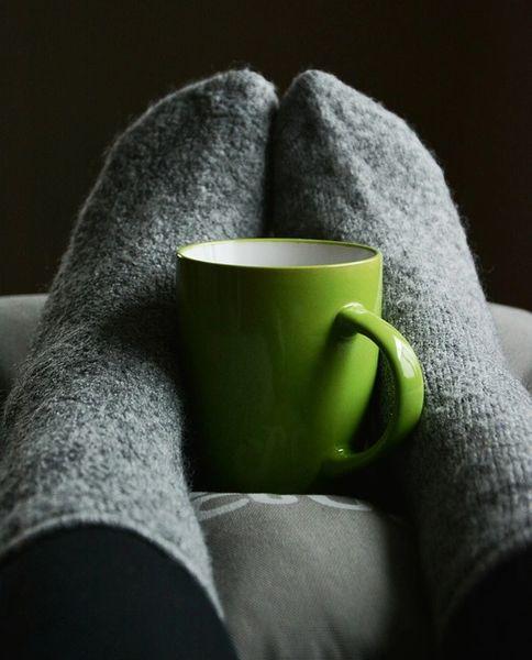 Tea & Fuzzy Socks**