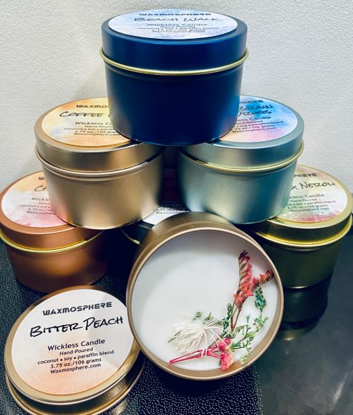 Wickless Candles