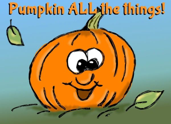 Pumpkin ALL The Things! (pre-order)