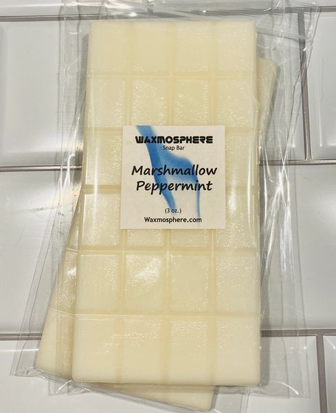 RTS - Marshmallow Peppermint - Snap Bars