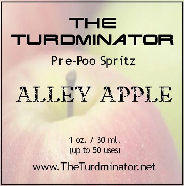 Alley Apple - The Turdminator pre-poo spritz