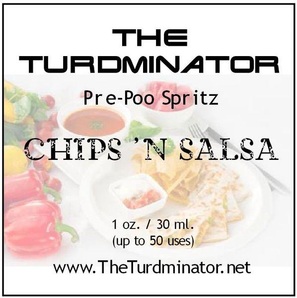 Chips 'N Salsa - The Turdminator pre-poo spritz