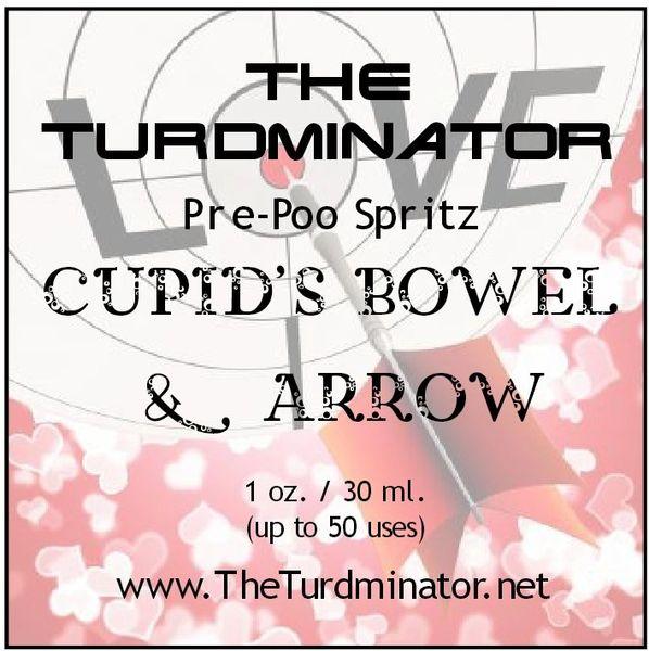Cupid's Bowel & Arrow - The Turdminator pre-poo spritz