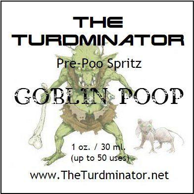 Goblin Poop - The Turdminator pre-poo spritz