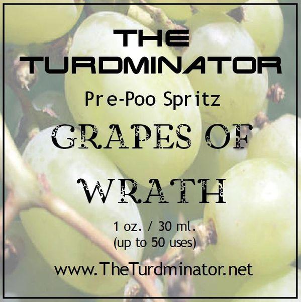 Grapes Of Wrath - The Turdminator pre-poo spritz