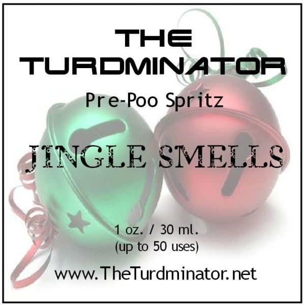 Jingle Smells - The Turdminator pre-poo spritz