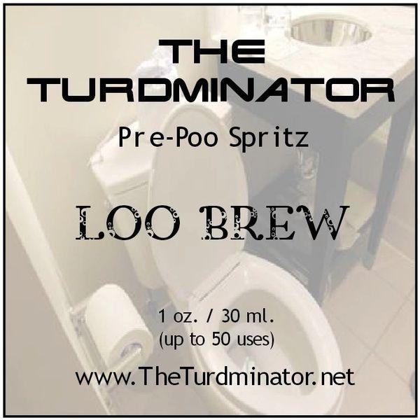 Loo Brew - The Turdminator pre-poo spritz