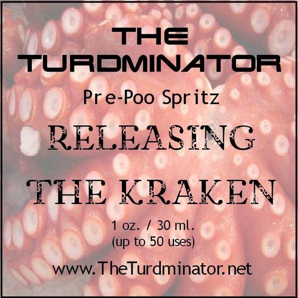 Releasing The Kraken - The Turdminator pre-poo spritz