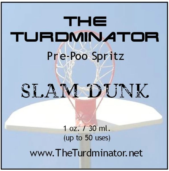 Slam Dunk - The Turdminator pre-poo spritz