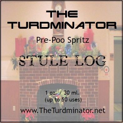 Stule Log - The Turdminator pre-poo spritz