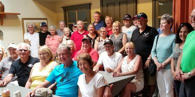 Our club has grown to over 90 members and come from places like Stoney Creek, Grimsby, Winona, Caled