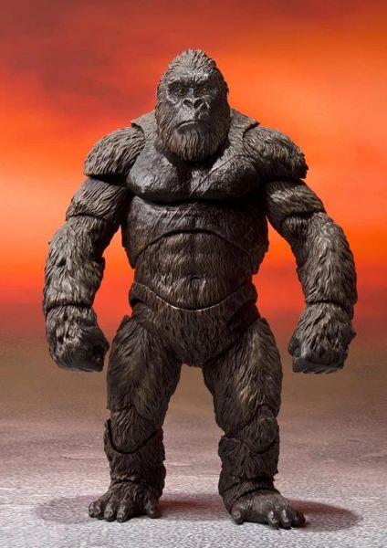 *PRE-SALE* Godzilla vs. Kong S.H.MonsterArts King Kong Action Figure