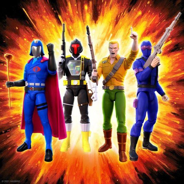 *PRE-SALE* G.I. Joe Ultimates Wave 1 Set of 4 Action Figures