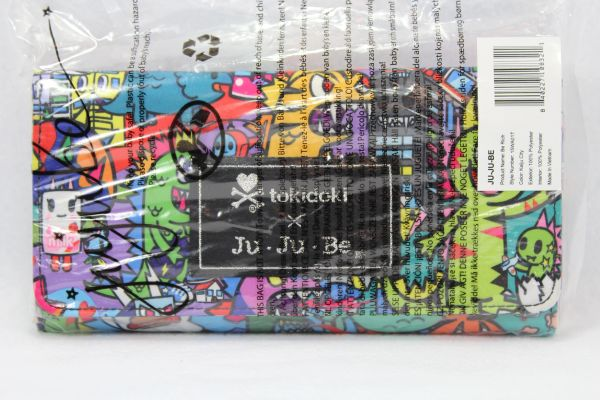 Ju-Ju-Be x Tokidoki Be Rich Wallet in Kaiju City PLACEMENT E