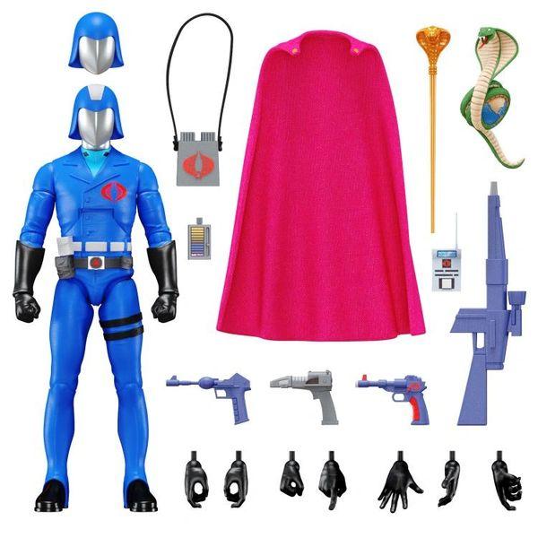 *PRE-SALE* G.I. Joe Ultimates Cobra Commander Action Figure