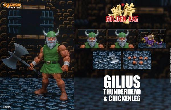 *PRE-SALE* Golden Axe Gilius Thunderhead and Chickenleg 1/12 Scale Action Figure Set