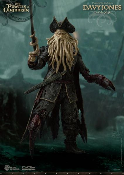 *PRE-SALE* Pirates of the Caribbean: At World's End Dynamic 8ction Heroes DAH-029 Davy Jones Action Figure