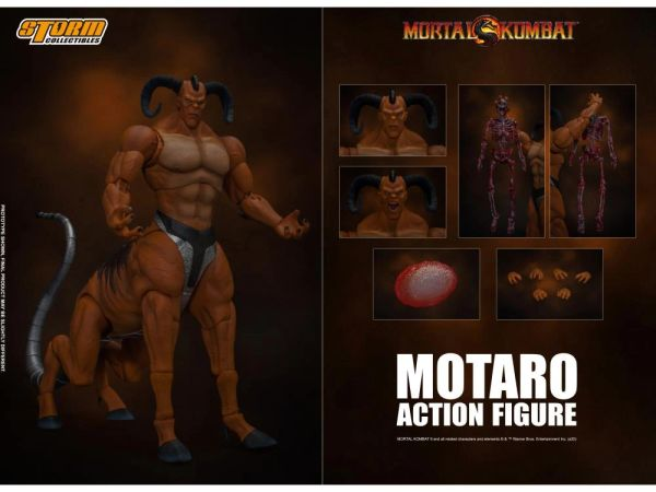 Storm Collectibles Mortal Kombat Motaro 1/12 Scale Action Figure