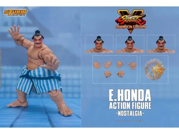 Storm Collectibles Street Fighter V E. Honda 1/12 Scale Action Figure