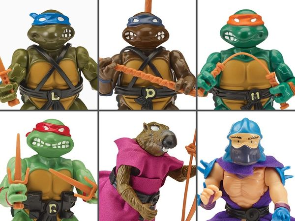 TMNT Retro Rotocast Sewer Lair PX Previews Exclusives Set