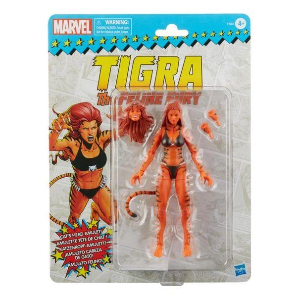 *PRE-SALE* Marvel Legends Avengers Spider-Man Retro Collection Tigra Action Figure