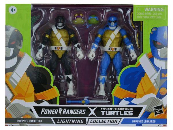 *PRE-SALE* Power Rangers X Teenage Mutant Ninja Turtles Lightning Collection Morphed Donatello & Morphed Leonardo Action Figure 2-Pack