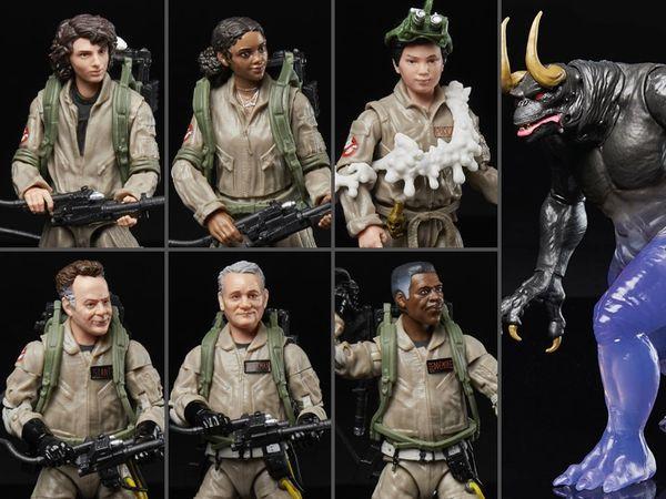 Ghostbusters: Afterlife Plasma Series Wave 3 Set of 6 Figures (Sentinel Terror Dog BAF)