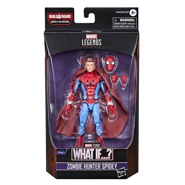 *PRE-SALE* What If? Marvel Legends Zombie Hunter Spider-Man Action Figure (The Watcher BAF)