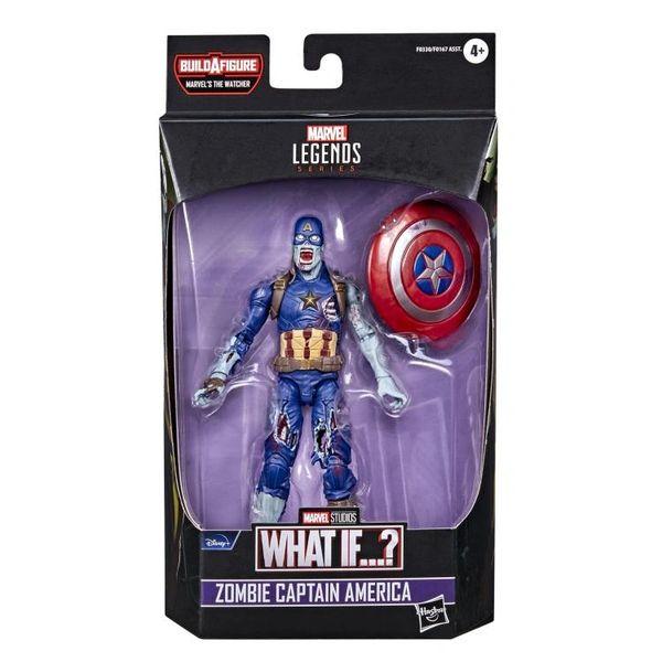 *PRE-SALE* What If? Marvel Legends Zombie Captain America Action Figure (The Watcher BAF)
