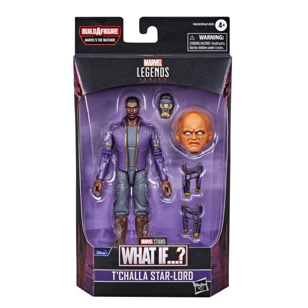 *PRE-SALE* What If? Marvel Legends T'Challa Star-Lord Action Figure (The Watcher BAF)