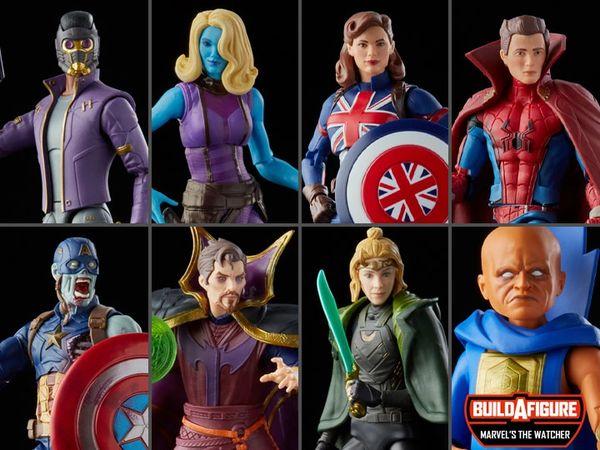 *PRE-SALE* Disney+ Marvel Legends Wave 2 Set of 7 Figures (Marvel's The Watcher BAF)