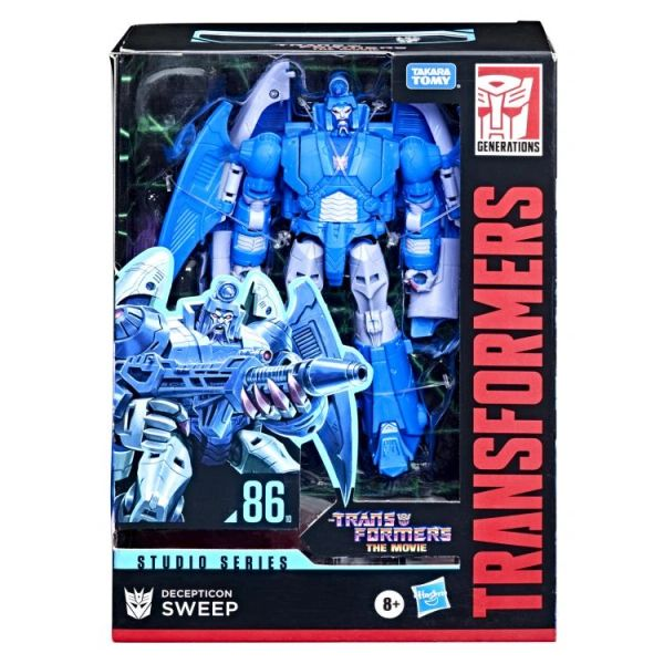 *PRE-SALE* Transformers Studio Series 86-10 Voyager Class Sweep Action Figure