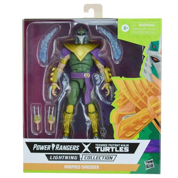 *PRE-SALE* Power Rangers X Teenage Mutant Ninja Turtles Lightning Collection Morphed Shredder Action Figure