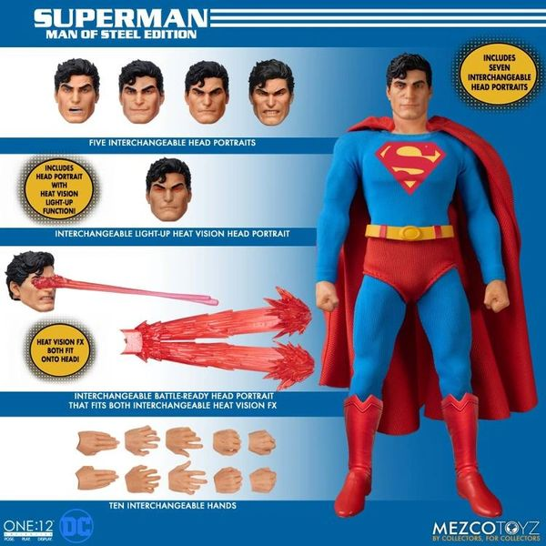 *PRE-SALE* DC Comics One:12 Collective Superman: Man of Steel Edition Action Figure