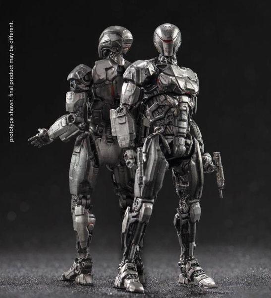 RoboCop (2014) EM-208 Enforcement Droid 1:18 Scale PX Previews Exclusive Action Figure Two-Pack