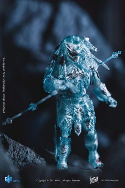 *PRE-SALE* Alien vs. Predator Scar Predator (Active Camoflage) 1:18 Scale PX Previews Exclusive Action Figure