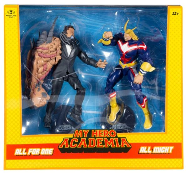 *PRE-SALE* My Hero Academia All Might vs. All For One Action Figure Two-Pack